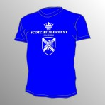 Scotchtoberfest T-Shirt Blau